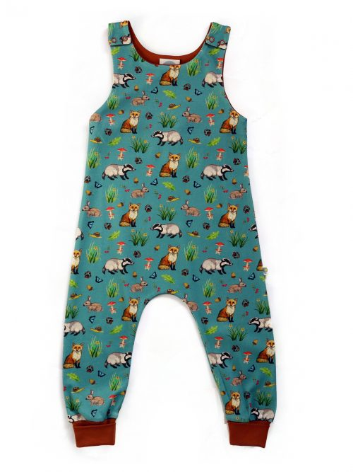 Fox Dungarees