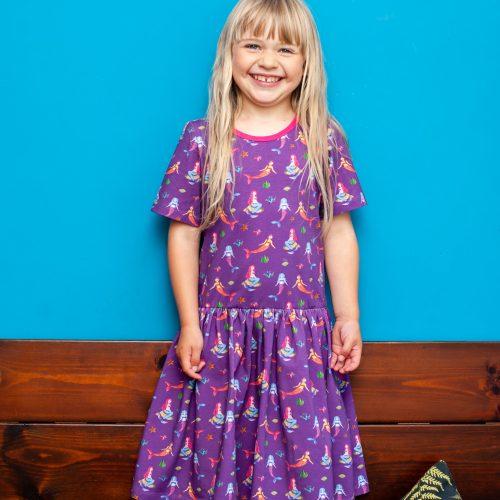 Purple Mermaid Dress