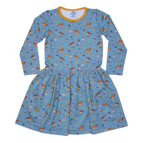 Blue Robin Dress